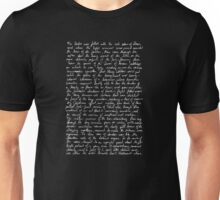 The Picture of Dorian Gray (Beginning of Ch. 1) Unisex T-Shirt