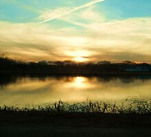 Sunset at St. Mary's by Mahnewl