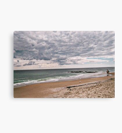 The Peaceful Beach At Ocean Grove NJ Canvas Print