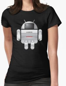 Asimo BugDroid Womens Fitted T-Shirt