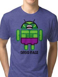 Droid Rage BugDroid Tri-blend T-Shirt