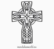 Celtic Cross n4 Dark by Mandala's World