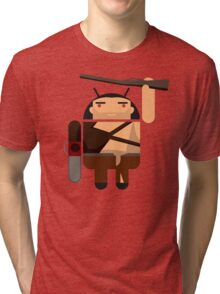 Army of Darkness BugDroid Tri-blend T-Shirt