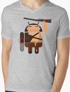 Army of Darkness BugDroid Mens V-Neck T-Shirt