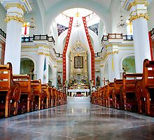 Cathedral of Our Lady of Guadalupe by Roxanne Persson