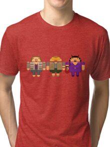 Lebowski BugDroids Tri-blend T-Shirt