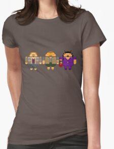 Lebowski BugDroids Womens Fitted T-Shirt
