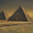  The Great Pyramid of Giza Cairo Egypt   by  Bonita Lalonde