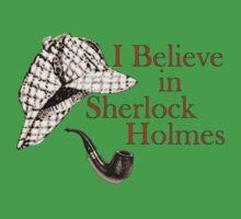 I Believe in Sherlock Holmes Kids Tee