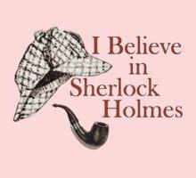 I Believe in Sherlock Holmes Baby Tee
