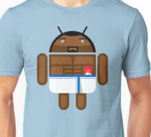 Old Spice Guy BugDroid Unisex T-Shirt