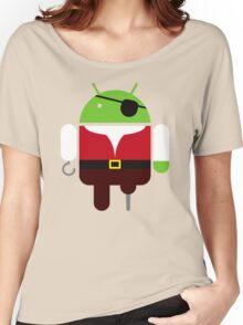 Pirate BugDroid Women's Relaxed Fit T-Shirt