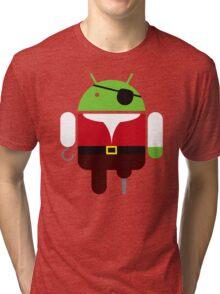 Pirate BugDroid Tri-blend T-Shirt
