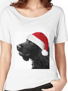 Merry Christmas Cocker  Women's Relaxed Fit T-Shirt