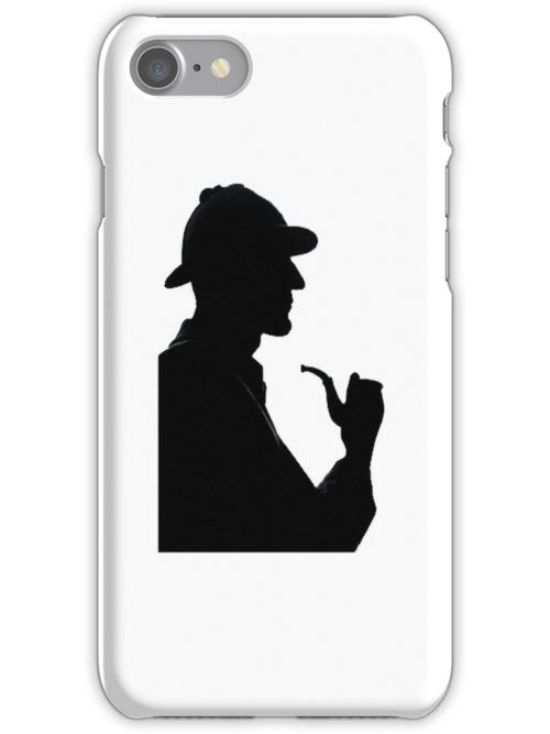 Sherlock Holmes iPhone case by Country  Pursuits