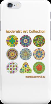 Modernist Art Collection by Mandala's World
