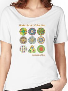 Modernist Art Collection Women's Relaxed Fit T-Shirt