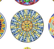 Modernist Art Collection Sticker