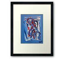 Blue Swan 2009 Framed Print