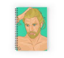 Poseidon Spiral Notebook