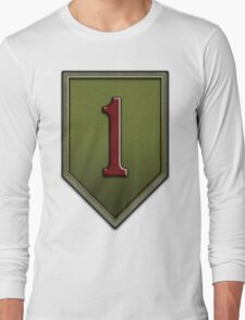The Big Red One Insignia Long Sleeve T-Shirt