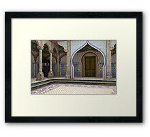 Tardis-India Framed Print