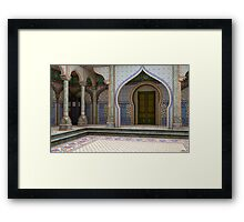 Tardis-India Framed Print
