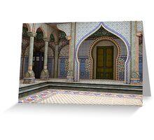 Tardis-India Greeting Card
