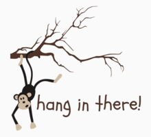 Hang In There Monkey Kids Tee