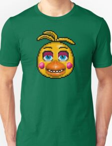 Five Nights at Freddy's 2 - Pixel art - Toy Chica Unisex T-Shirt