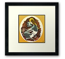 """W. Rabbit"" Part one Framed Print"