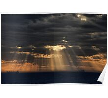 Sunbeams in the Storm Poster