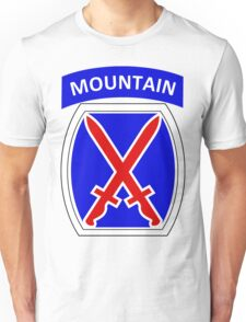 10th Mountain Division Logo Unisex T-Shirt