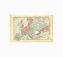 Vintage Map of Europe (1911) Unisex T-Shirt