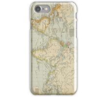 Vintage Map of The World (1911) 2 iPhone Case/Skin
