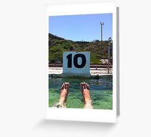 Ten out of Ten Greeting Card