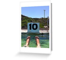 Ten out of Ten Greeting Card