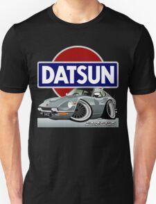 Datsun 240Z caricature silver T-Shirt