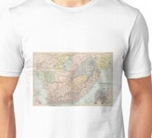 Vintage Map of South Africa (1892) Unisex T-Shirt