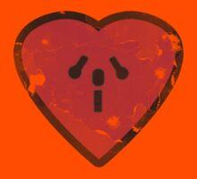 Cute Funny Heart Love Valentine Grunge T-shirt Kids Tee