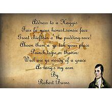 Robert Burns  Photographic Print