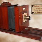 Antique Wooden Camera by Keith G. Hawley