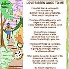 LOVE'S BEEN GOOD TO ME by Robert Burns