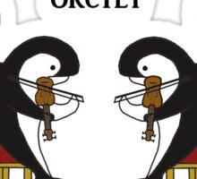 Orctet - Quartet parody Sticker