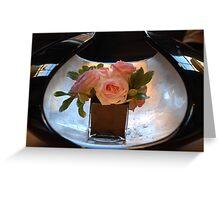 Mirror Roses Greeting Card