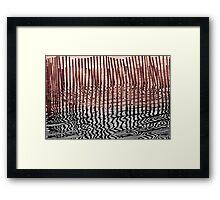 Water Arts - V Framed Print