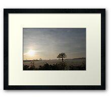 Winter morning in North Yorkshire Framed Print