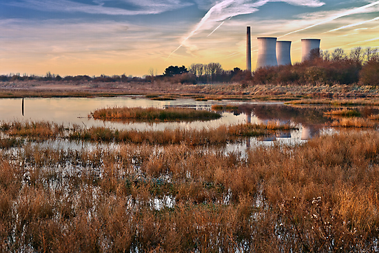 Reflections of Richborough by Geoff Carpenter