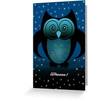 WHOOO! Greeting Card