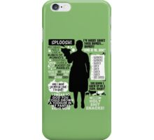 Archer - Pam Poovey Quotes iPhone Case/Skin